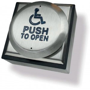Wireless Stainless Steel Exit Button